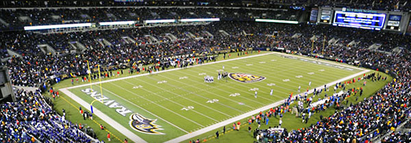 M t bank stadium home of the baltimore ravens baltimore for Restaurants m t bank stadium